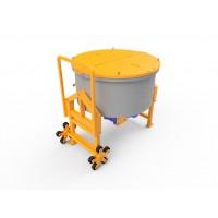 Бетонозмішувач примусовий пересувний ІС2-150