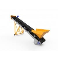 Конвеєр з шевронною стрічкою для важких сипучих матеріалів ЛТ-4-500