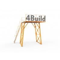 Опорна рама для бетонозмішувача - 4,5 м