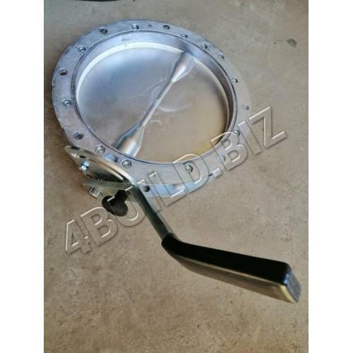 """Затвір дисковий """"SCUTTI"""" VFA300-LT з ручним приводом CML-22"""