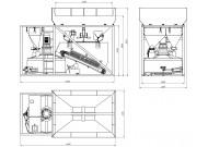 Мобільний бетонний завод 4BUILD COMPACT-20
