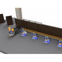Лінія 4BUILD MAXIMUM з виробництва дорожніх бордюрів, тротуарної плитки та іншої пресованої продукції